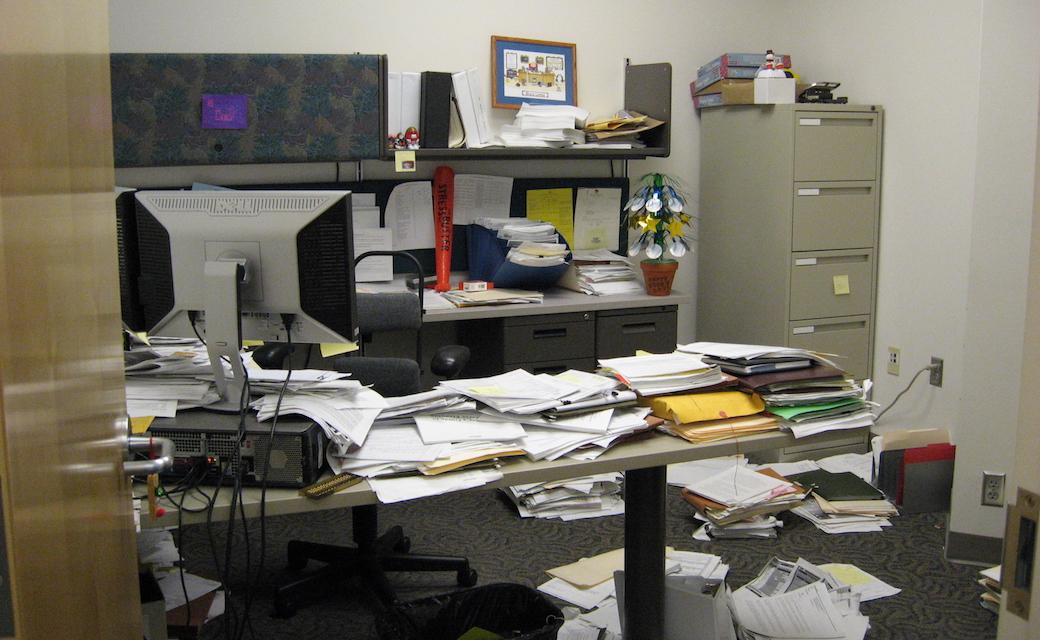 5S в офисе (before)