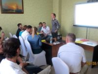 Сотрудники СПКБ Техно на тренинге по Бережливому производству