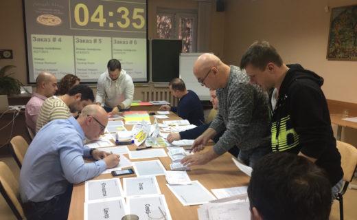 Курс по Бережливому производству на программе МВА НГУ. г. Новосибирск. 2017 г
